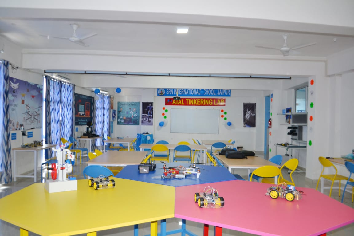 Atal Tinkering Lab Inaugurated at SRN International School